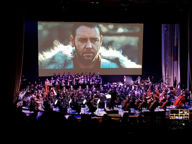 Киноконцерт «Гладиатор» и симфонический оркестр с хором