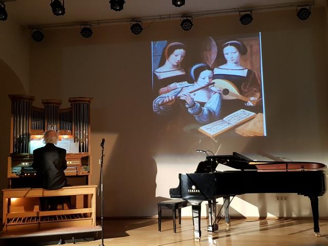 Музыка в картинах старых мастеров