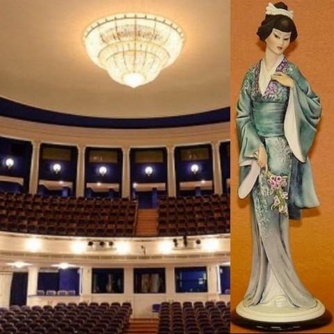 «Мадам Баттерфляй»: опера и фарфор